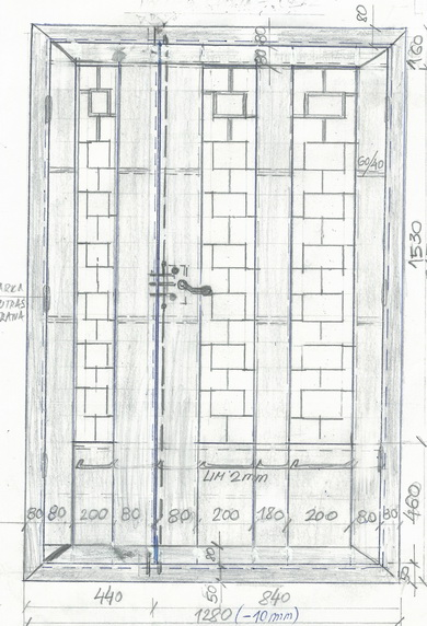 Sigurnosna vrata - varijante izrade